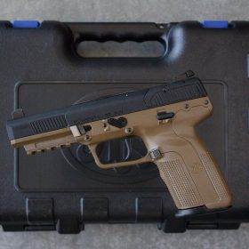 FN57 pistol FDE