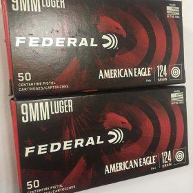 Federal American Eagle, 9mm